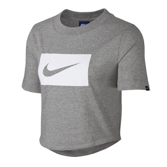 a73bf5f1bed0d Nike Swoosh Short Sleeve Womens Crop Top